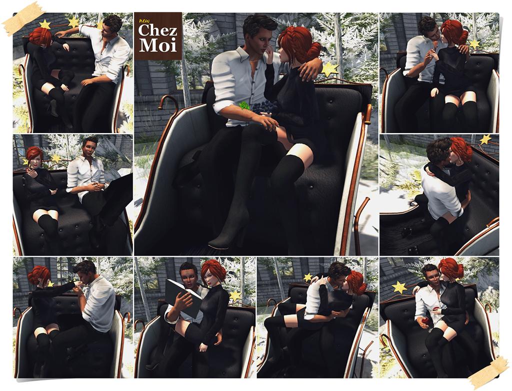 Merry Sleigh Couple and Single CHEZ MOI