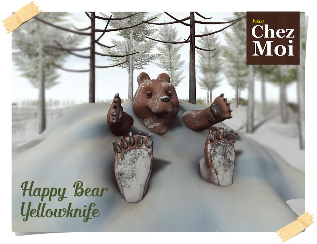Happy Bear CHEZ MOI