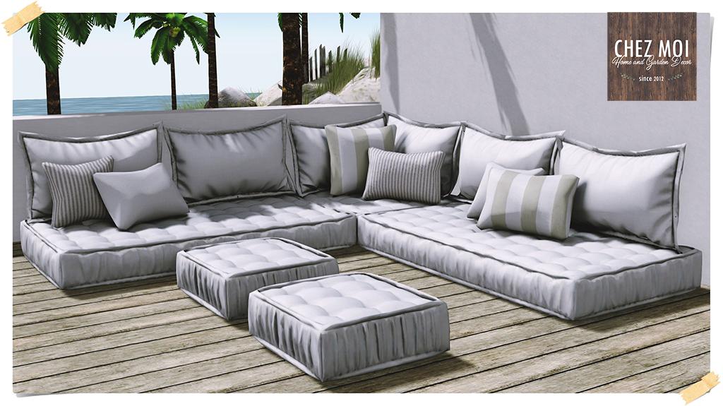 Santorini Lounge L CHEZ MOI