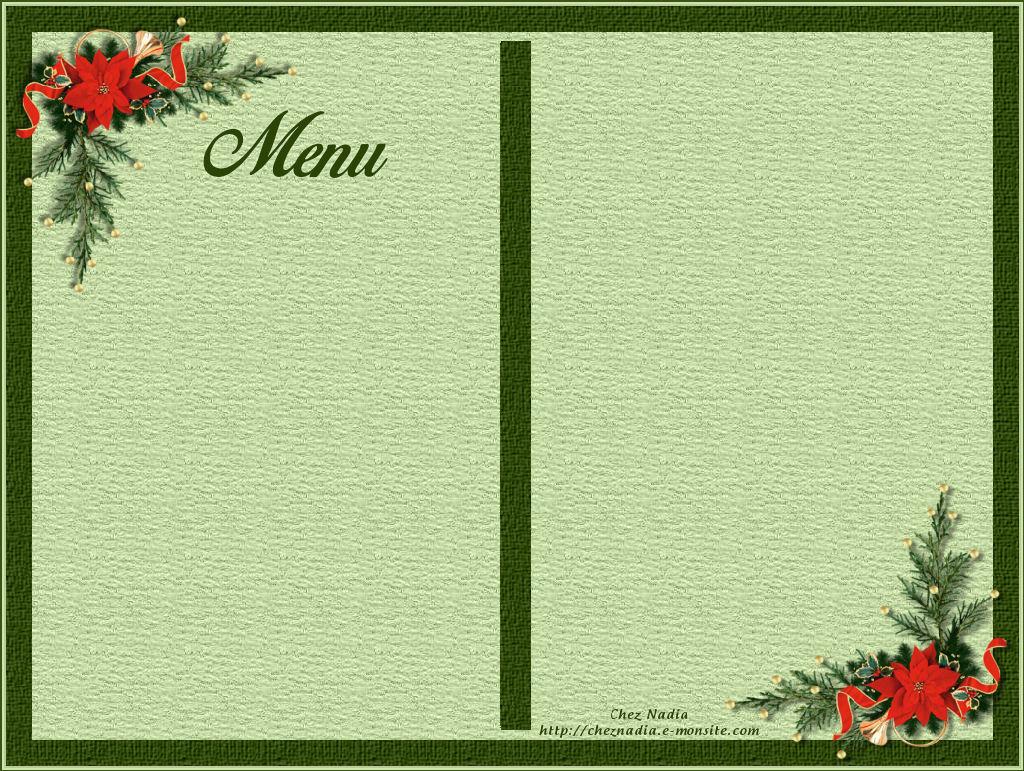 Carte Vierge Noel Nouvelle An