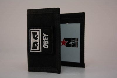 Obey DROP OUT TRI FOLD WALLET