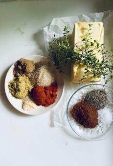 Compound butter ingredients