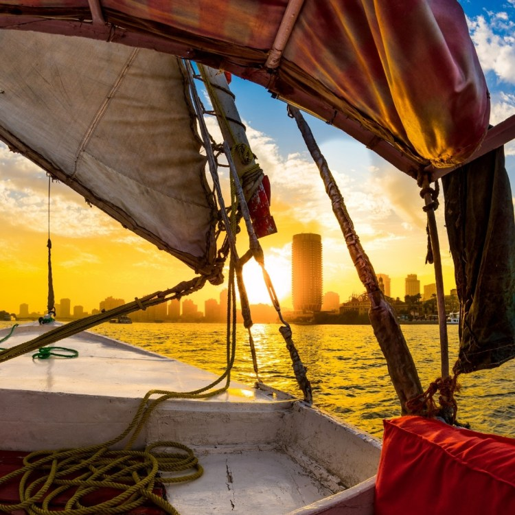A Felucca Ride By the River Nile. Stock Photo @Canva