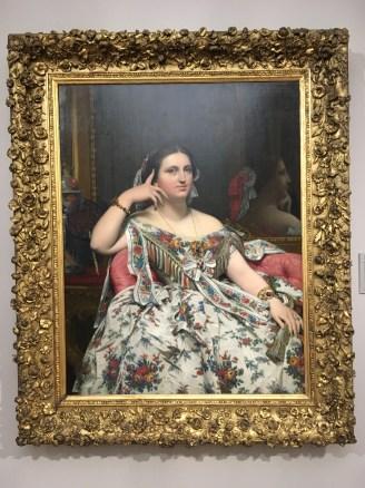Ingres portrait of a Lady