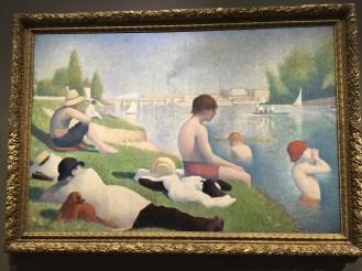 Seurat - Bathers at Ansieres