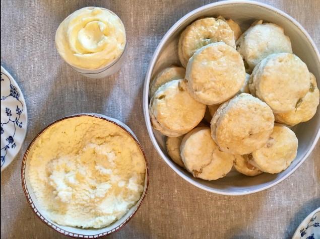 Chez Nous Dinners, Daria Souvorova, High Tea, Sultana Scones and Clotted Cream