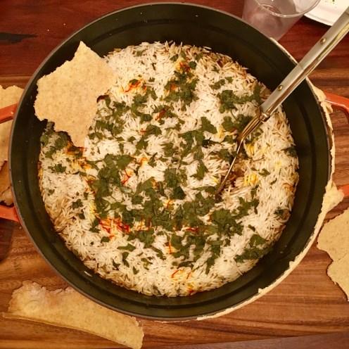 Chez Nous Dinners, Daria Souvorova, Indian Night, Lamb Biryani