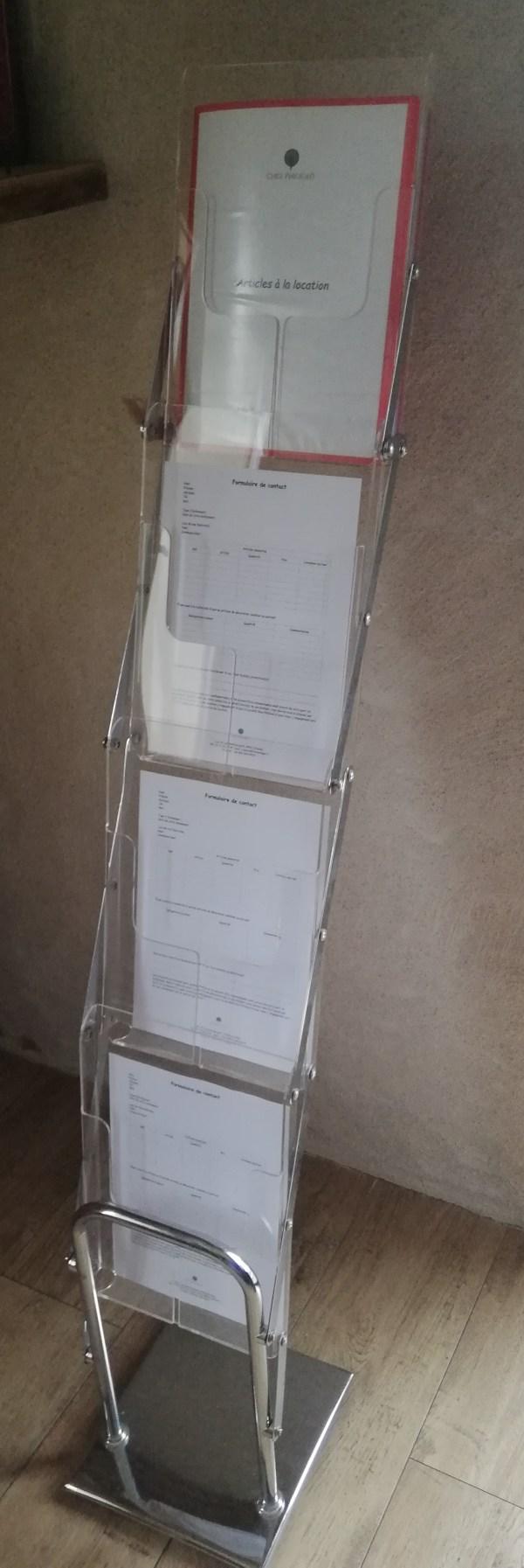 Porte document pliable
