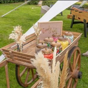 Location charrette des 4 saisons Tours 37 indre et loire candy bar