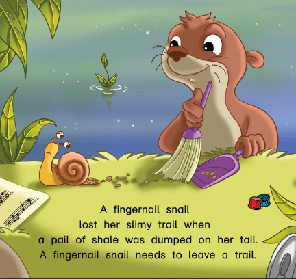Otto and the fingernail snail (2)