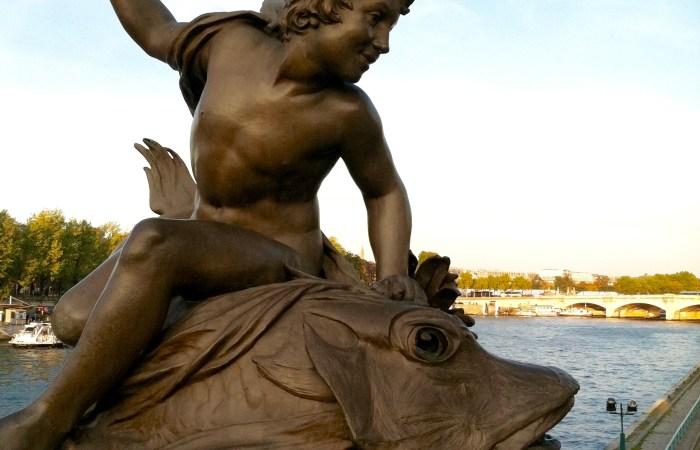 Paris, View to the Seine