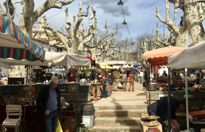 Exploring a New French Antique Market in Barjac
