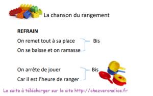 La Chanson Du Rangement Chez Veronalice
