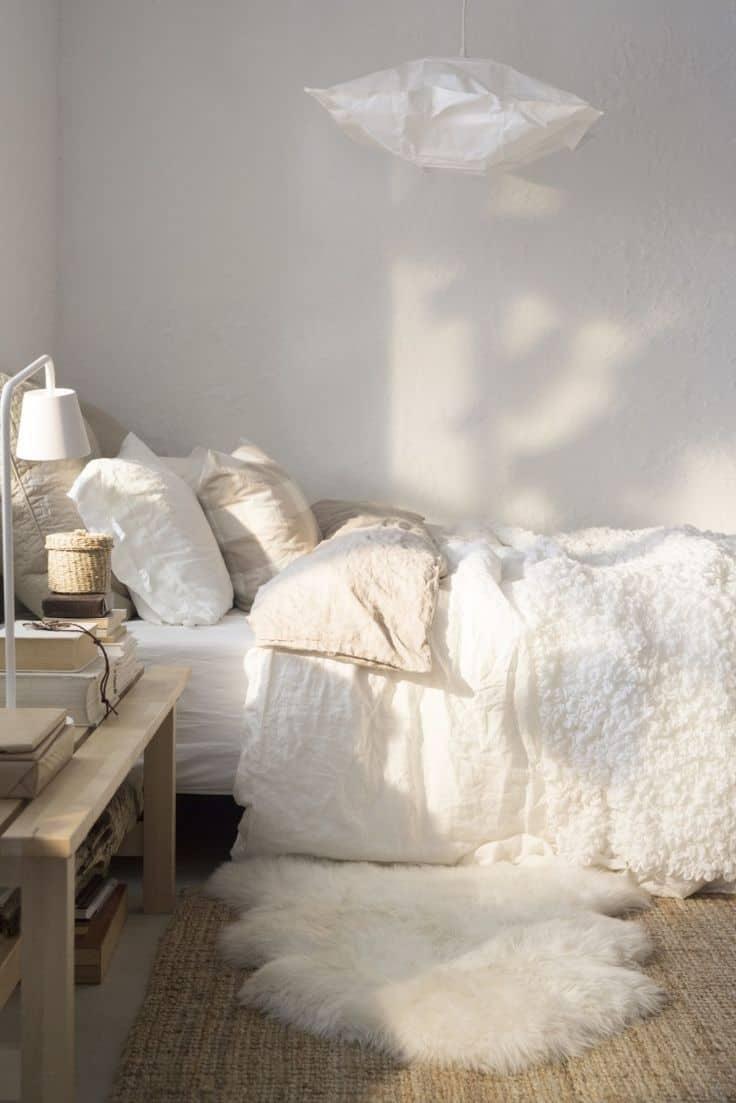 9 - Pinterest : une chambre cocooning pour l'hiver