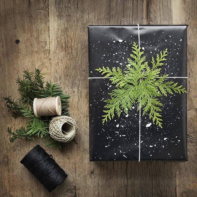 un joli paquet de noel - Noël : 11 DIY faciles pour une déco réussie