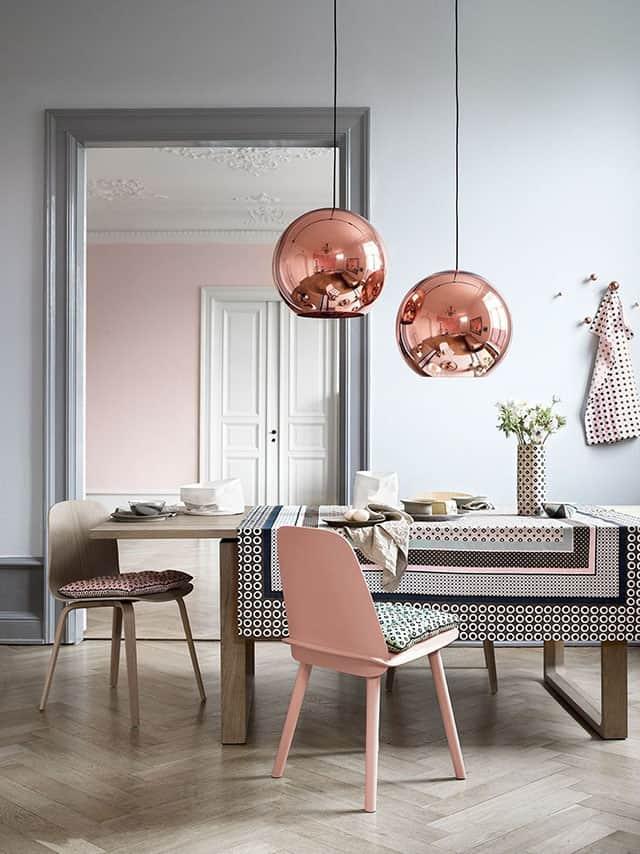 une salle a manger avec une deco pastel - Comment bien réussir sa salle à manger