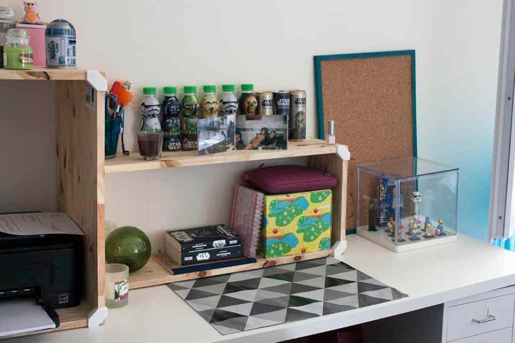 un meuble cubix sur le bureau - Cubix : un outil pratique pour l'aménagement du bureau