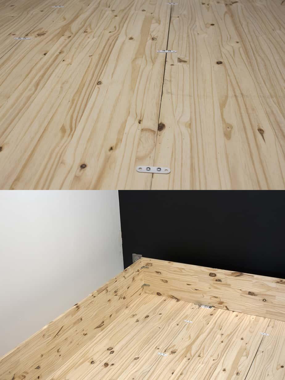 construction fond lit escamotable etape 2 - Le lit escamotable, comment le fabriquer soi-même