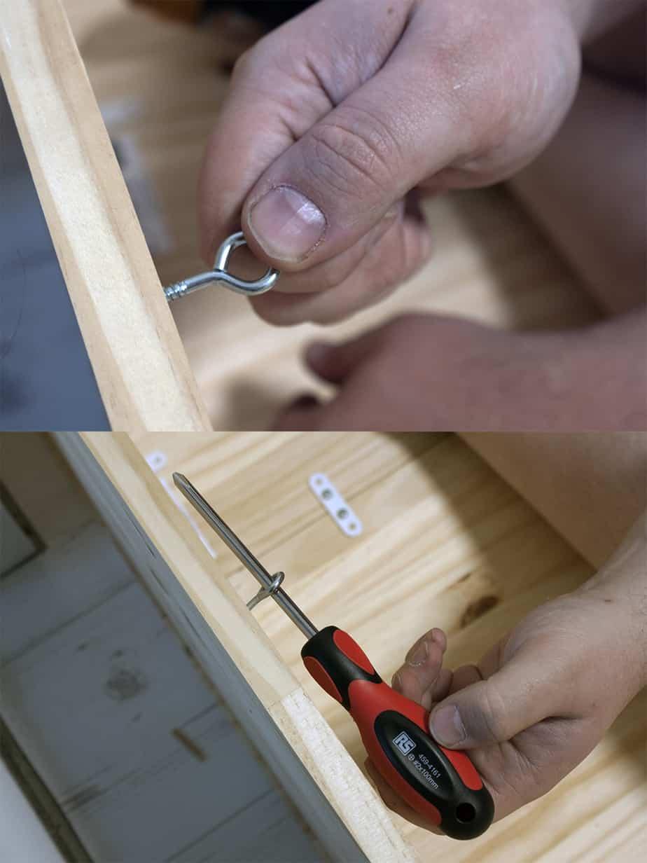 construction lit escamotable etape 1 - Le lit escamotable, comment le fabriquer soi-même