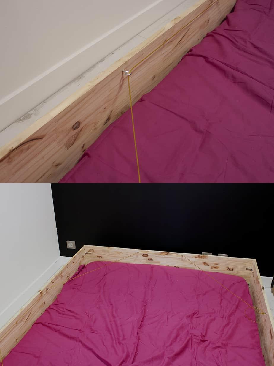 construction lit escamotable etape 2 - Le lit escamotable, comment le fabriquer soi-même