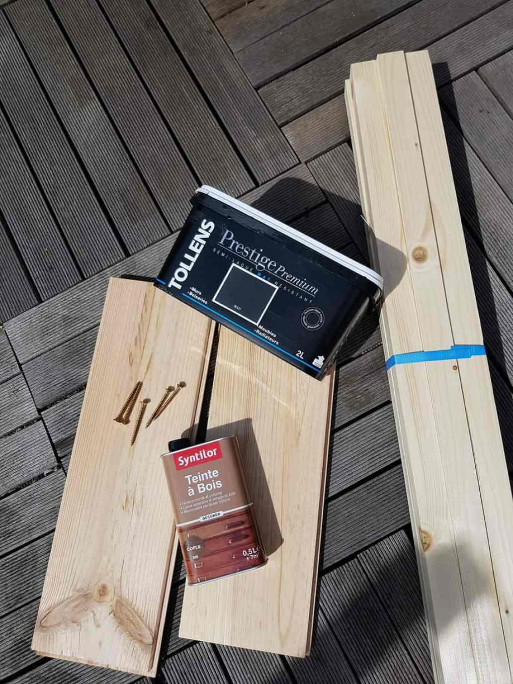 materiel necessaire construction table basse - DIY déco : comment fabriquer une table basse industrielle