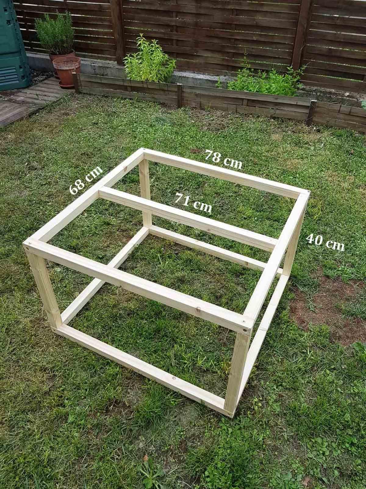 Tuto Table Basse Bois diy déco : comment fabriquer une table basse industrielle