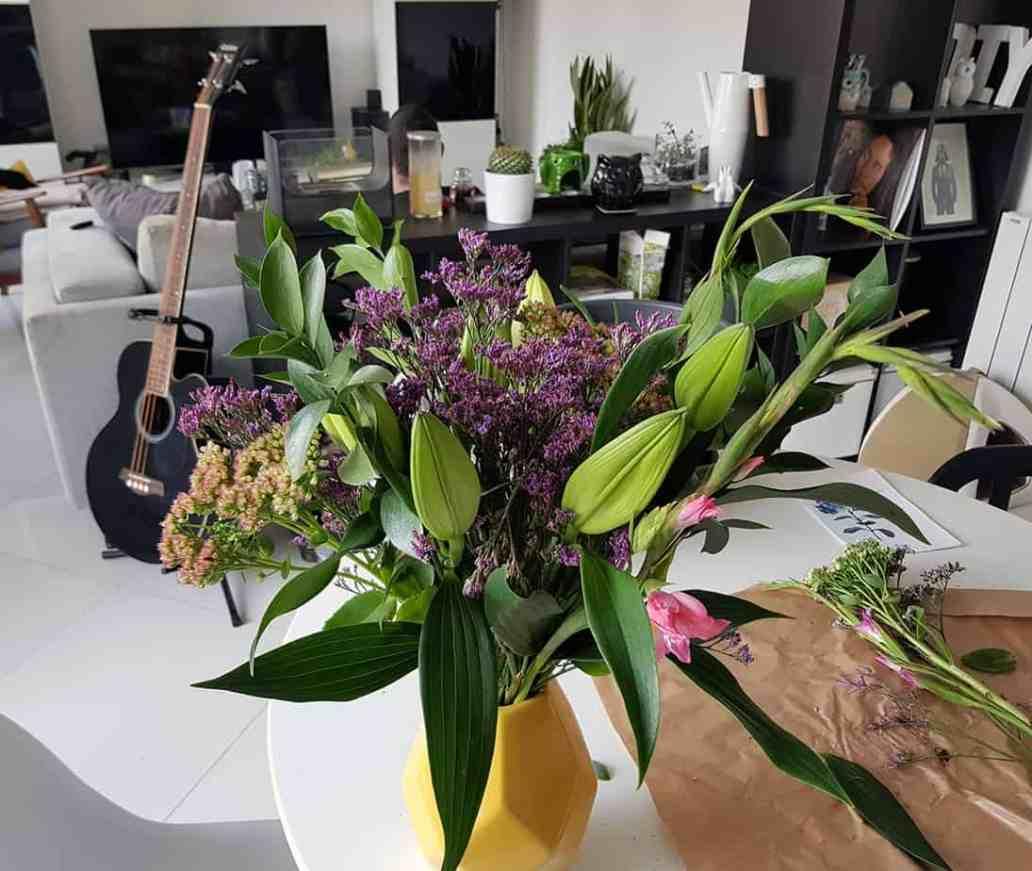 comment composer un beau bouquet - Bloom's, une box de fleurs remplie de charme