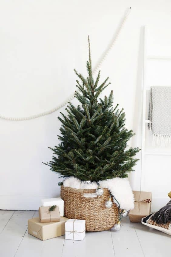 sapin simple pour noel  - Le sapin de Noël :  comment réussir à le décorer ?