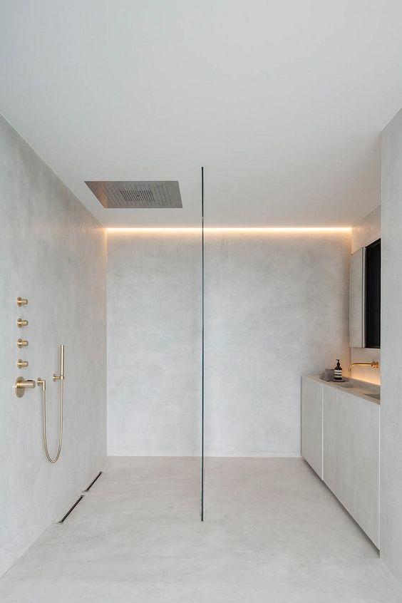 paroi en verre douche italienne - 5 parois irrésistibles pour une douche à l'italienne tendance