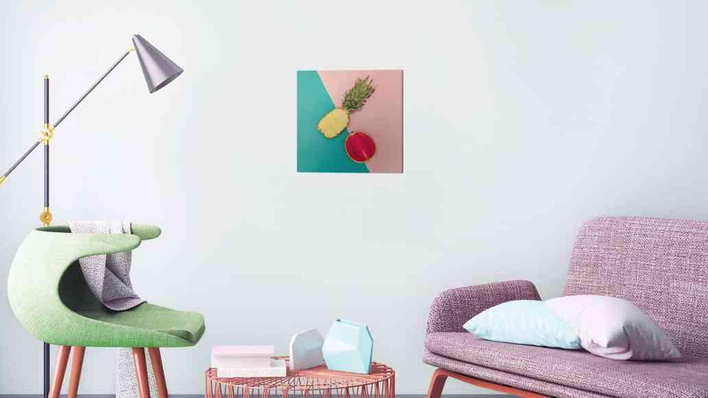 tableau salon pixers - Pixers, un site pour personnaliser son intérieur