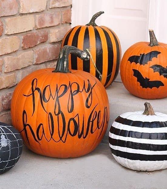 citrouille idees diy halloween  - 7 idées DIY pas chères pour Halloween