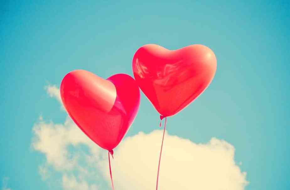 balloon saint valentin