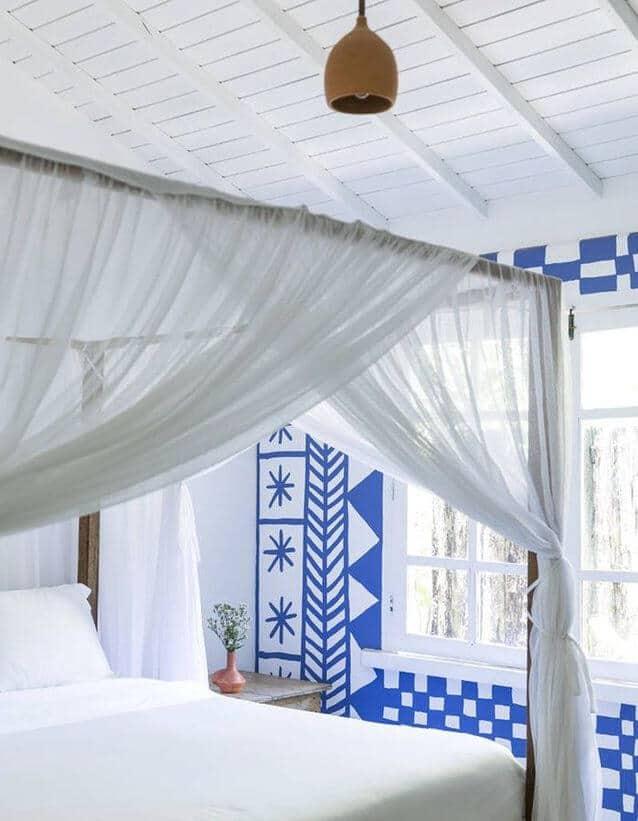 Une chambre blanche a l esprit grec - Réussir une décoration d'inspiration grecque