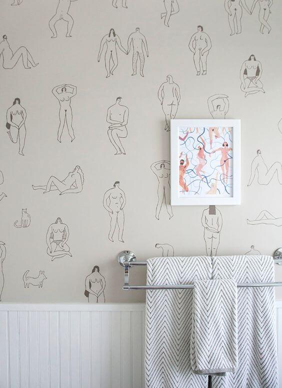 Papier peint panoramique humoristique  - 10 styles de papier peint panoramique à couper le souffle