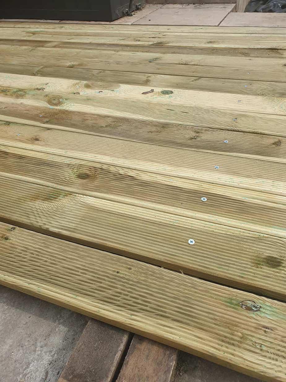 construction dune terrasse en bois - Construire une terrasse en bois
