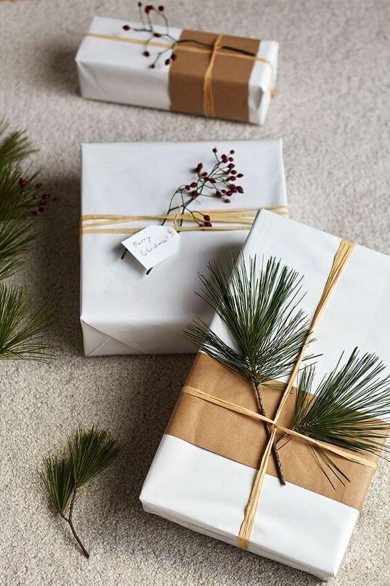 composer sa déco de Noël avec les emballages cadeaux  - Comment composer sa déco de Noël avec les tendances 2019  ?