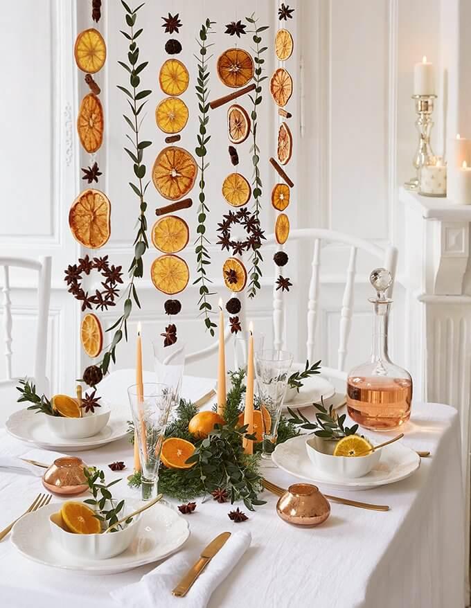 decorer la table des fetes  - Comment composer sa déco de Noël avec les tendances 2019  ?