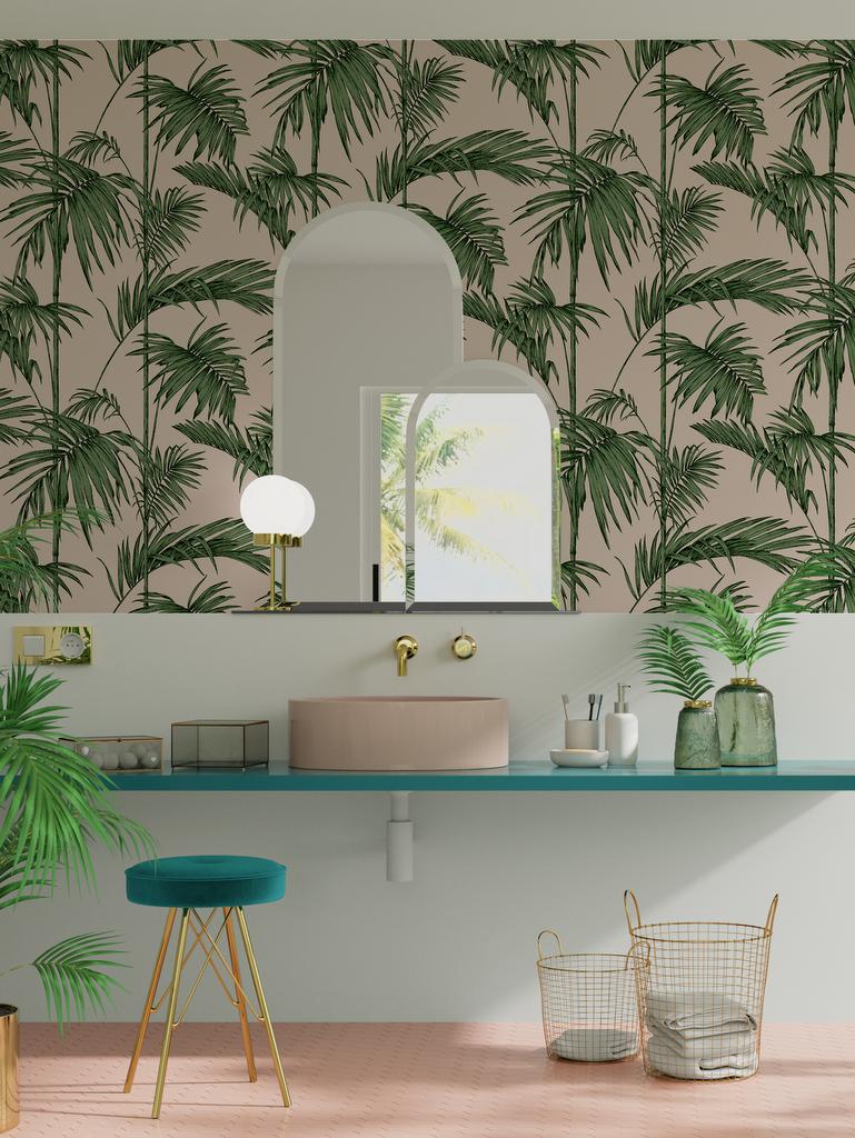 une salle de bain à la déco du Brésil - La déco du Brésil : un style tropical mêlé à une ambiance bohème