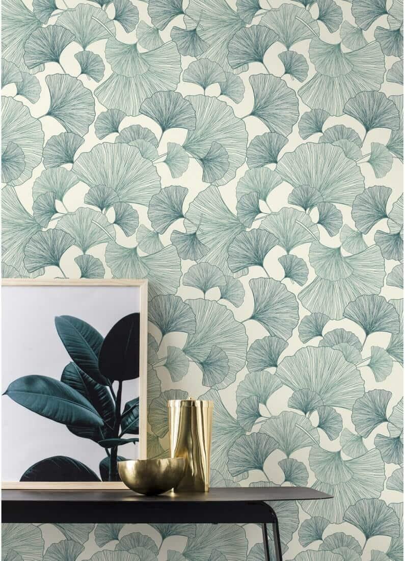 décorer le mur du salon avec du papier peint  - Comment décorer le mur du salon ?