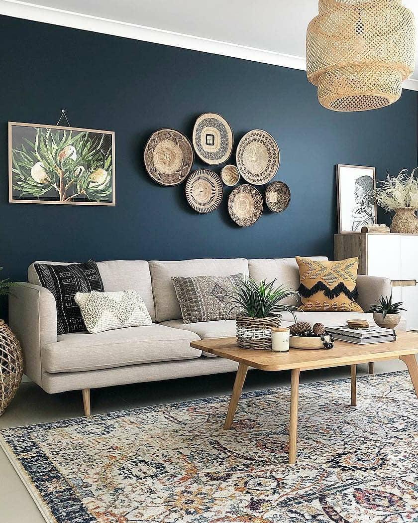 décorer le mur du salon avec une décoration murale - Comment décorer le mur du salon ?