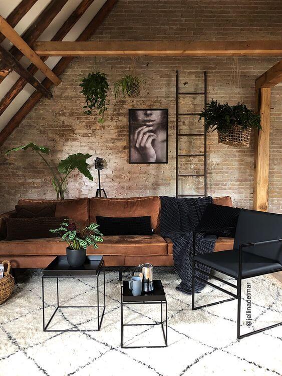 Décoration industriel amené par le mobilier de salon - Quel mobilier de salon pour quel style de déco ?