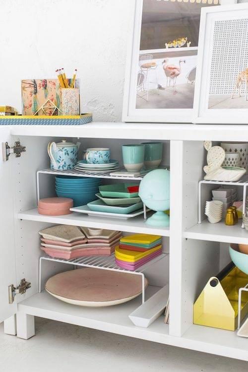 séparateurs de placards pour ranger la cuisine - Comment organiser les placards de la cuisine ?