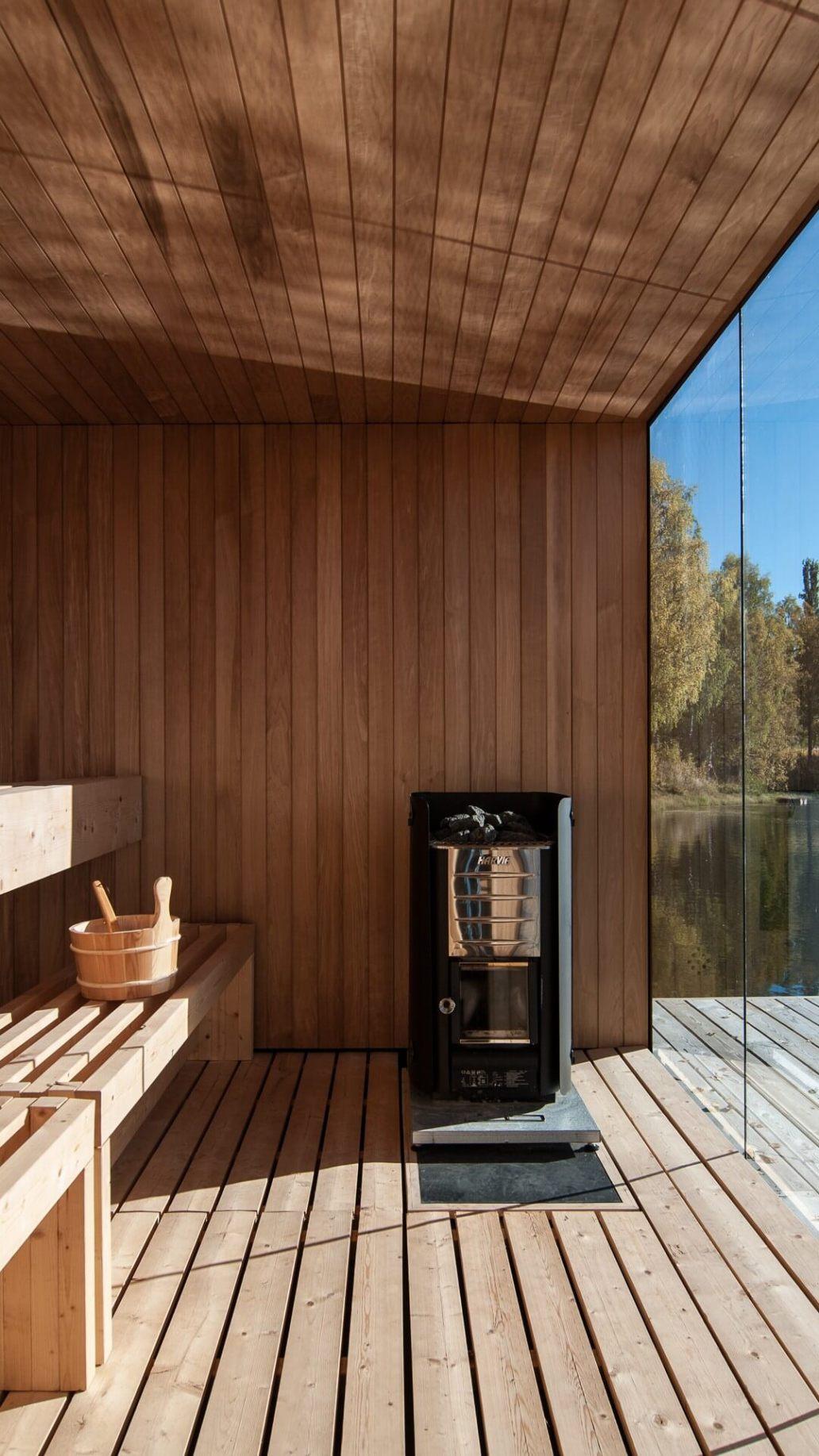 un sauna dans la maison  - Comment aménager un gîte pour le louer ?