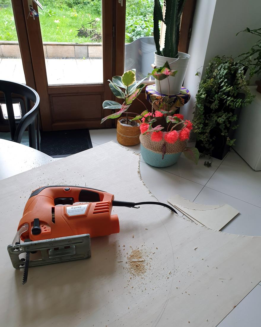 20200929 172553 - DIY Récup : fabriquer une table basse avec un pneu