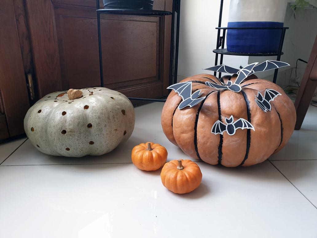 20201014 154757 - Comment décorer la citrouille d'Halloween avec originalité