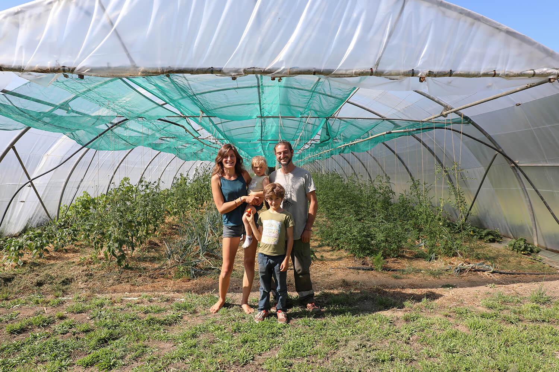 Jimmy Alex et leurs enfants - Potage et Nature : une ode à la permaculture au coeur de la Bretagne
