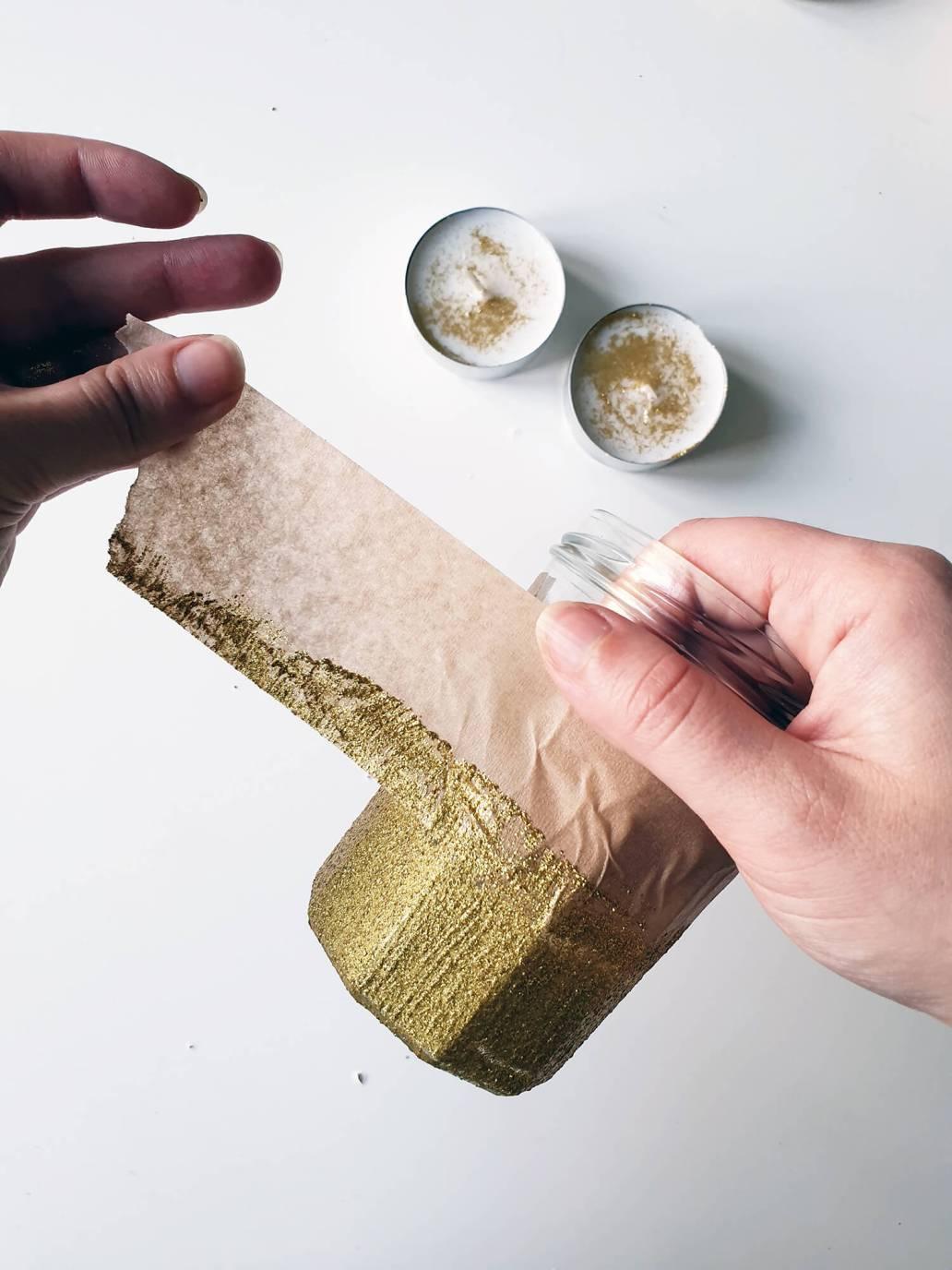 20201013 172011 - DIY Noël zéro-déchet : créer des photophores dorés