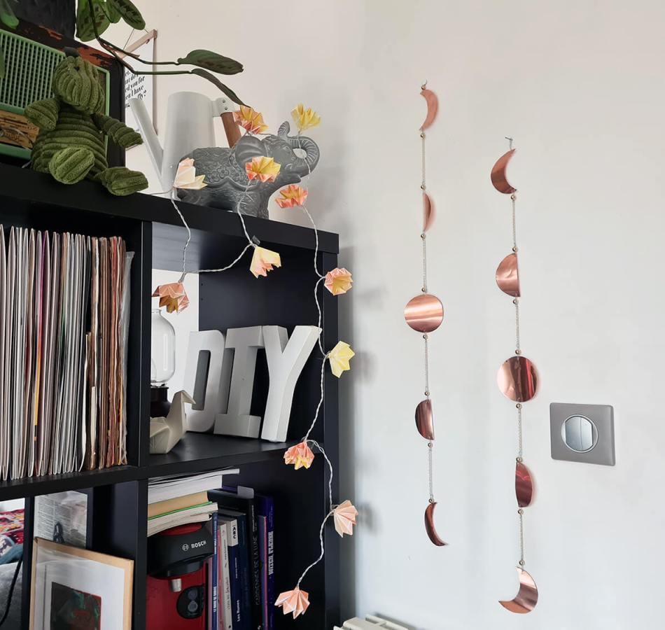 DIY déco : fabriquer un bijou de mur en cuivre