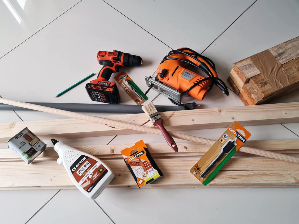 20201206 090630 - DIY récup : fabriquer un sapin de Noël en bois avec des tasseaux