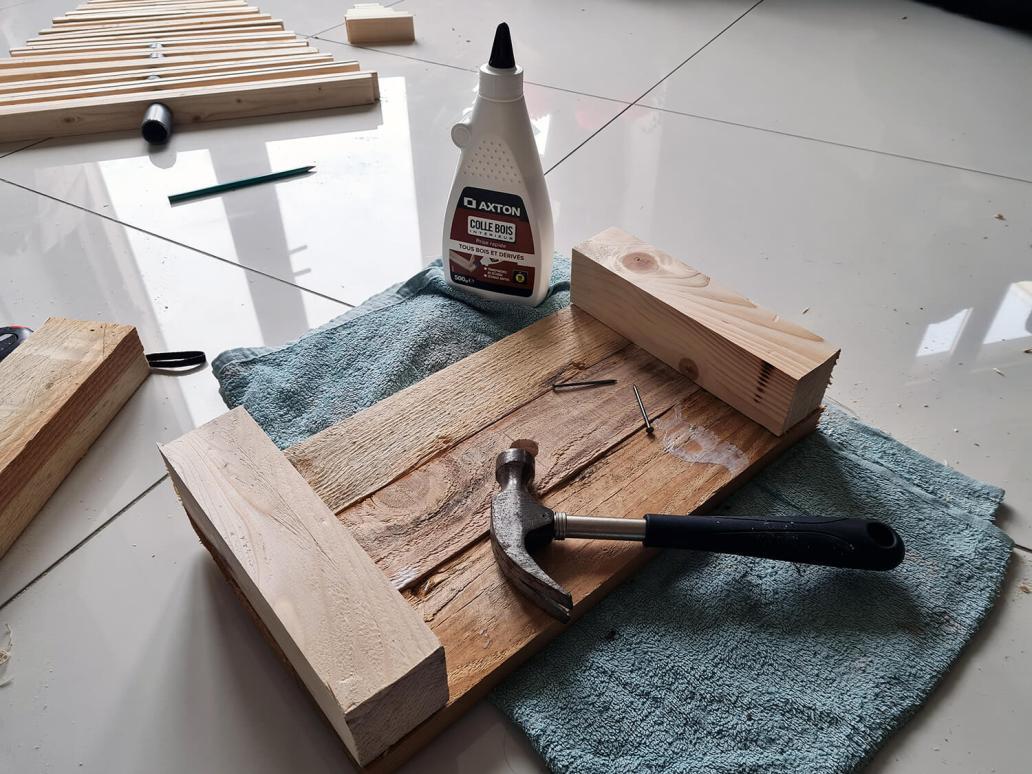 20201206 122312 - DIY récup : fabriquer un sapin de Noël en bois avec des tasseaux